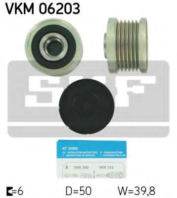 SKF VKM 06203