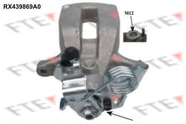 FTE RX439869A0 Тормозной суппорт