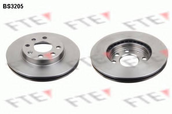 FTE BS3205 Тормозной диск