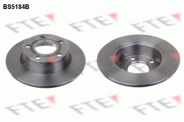 FTE BS5184B Тормозной диск