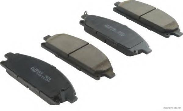 HERTH+BUSS JAKOPARTS J3601090 Комплект тормозных колодок, дисковый тормоз