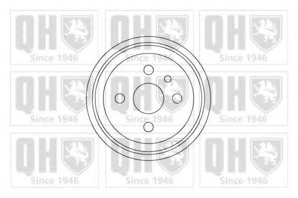 QUINTON HAZELL BDR130 Тормозной барабан
