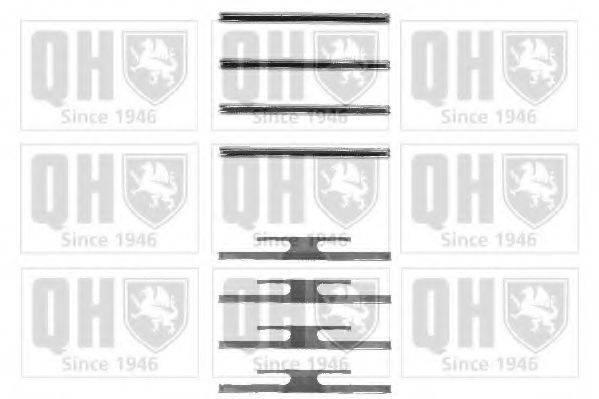 QUINTON HAZELL BFK710 Комплектующие, колодки дискового тормоза