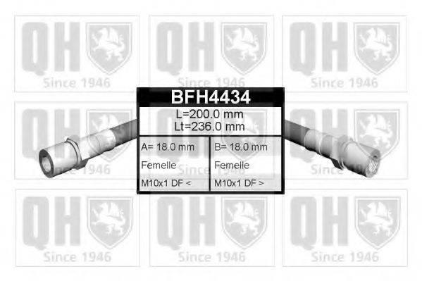 QUINTON HAZELL BFH4434 Тормозной шланг