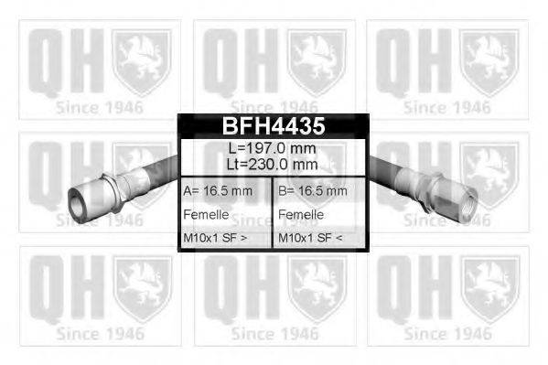 QUINTON HAZELL BFH4435 Тормозной шланг