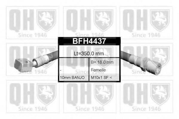 QUINTON HAZELL BFH4437 Тормозной шланг