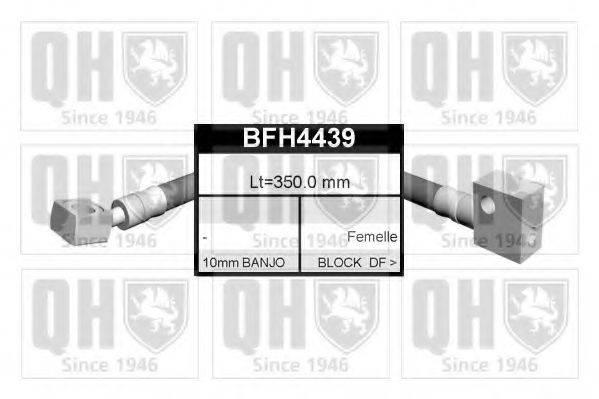 QUINTON HAZELL BFH4439 Тормозной шланг