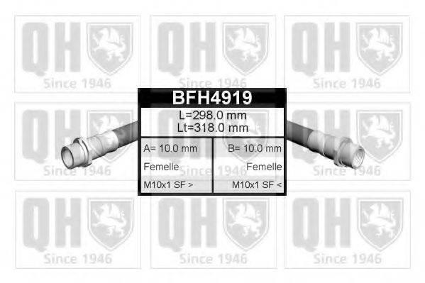 QUINTON HAZELL BFH4919 Тормозной шланг