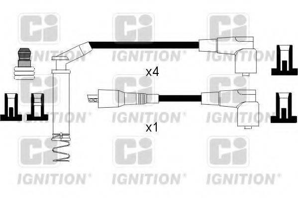 QUINTON HAZELL XC796 Комплект проводов зажигания