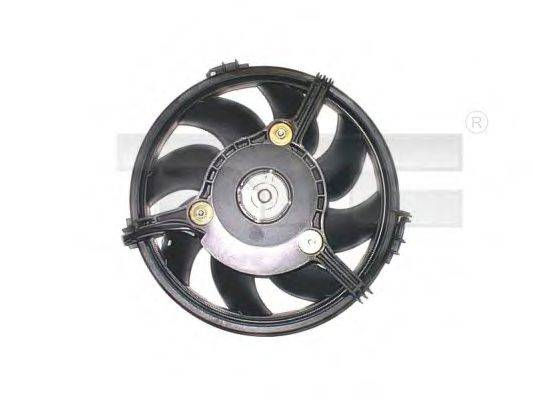 TYC 8021005 Вентилятор, охлаждение двигателя