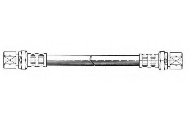 FERODO FHY2051 Тормозной шланг