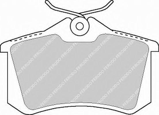 FERODO FSL1083 Комплект тормозных колодок, дисковый тормоз