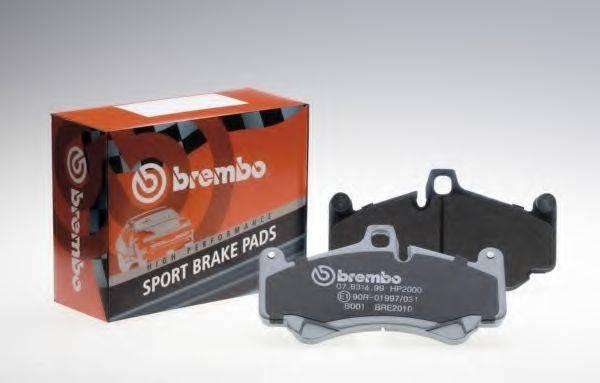 BREMBO 07B31471 Комплект высокоэффективных тормозных колодок