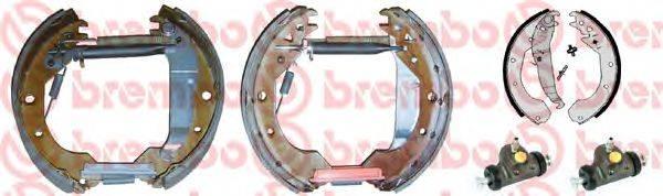 BREMBO K59023 Комплект тормозных колодок