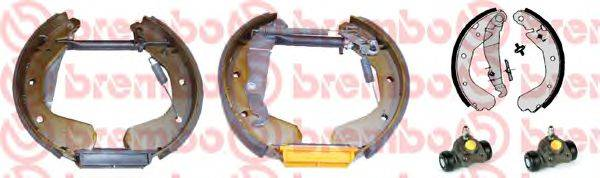 BREMBO K59027 Комплект тормозных колодок