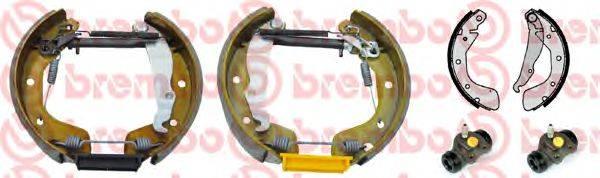 BREMBO K59032 Комплект тормозных колодок