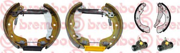 BREMBO K59033 Комплект тормозных колодок