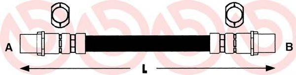BREMBO T85040 Тормозной шланг