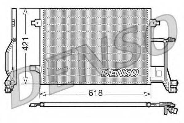 DENSO DCN02013 Конденсатор, кондиционер
