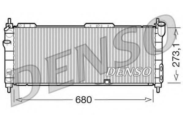 DENSO DRM20042 Радиатор, охлаждение двигателя