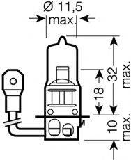 OSRAM 64151NBU Лампа накаливания, фара дальнего света; Лампа накаливания, основная фара; Лампа накаливания, противотуманная фара; Лампа накаливания, основная фара; Лампа накаливания, фара дальнего света; Лампа накаливания, противотуманная фара; Лампа накаливания, фара с авт. системой стабилизации; Лампа накаливания, фара с авт. системой стабилизации