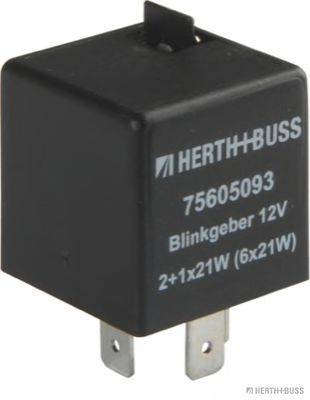 HERTH+BUSS ELPARTS 75605093 Прерыватель указателей поворота; Прерыватель указателей поворота