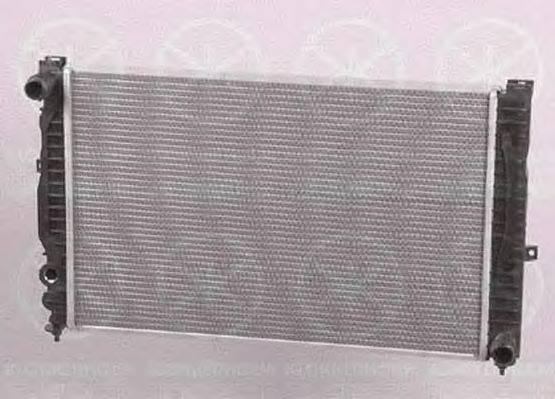 KLOKKERHOLM 0014302124 Радиатор, охлаждение двигателя
