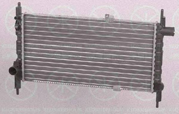 KLOKKERHOLM 5049302063 Радиатор, охлаждение двигателя