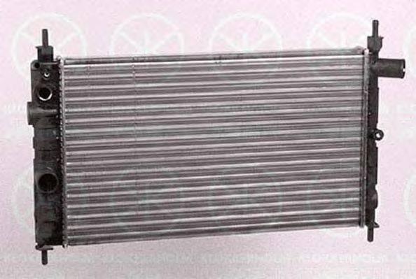 KLOKKERHOLM 5049302150 Радиатор, охлаждение двигателя