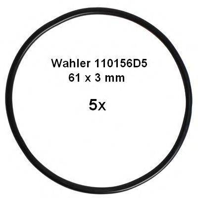 WAHLER 110156D5 Прокладка, трубка клапана возврата ОГ