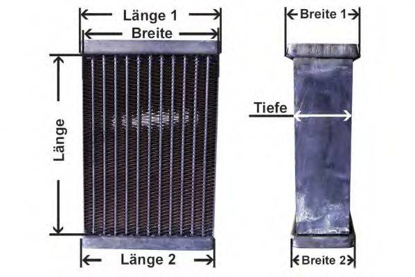 AKS DASIS 00016 сетка радиатора, охлаждение двигателя