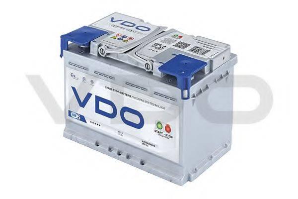 VDO A2C59520001D Стартерная аккумуляторная батарея; Стартерная аккумуляторная батарея