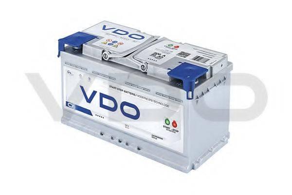VDO A2C59520003D Стартерная аккумуляторная батарея; Стартерная аккумуляторная батарея