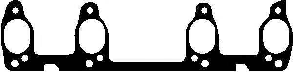 GLASER X5163801 Прокладка, выпускной коллектор