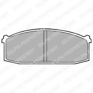 BENDIX 330903 Комплект тормозных колодок, дисковый тормоз