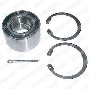 DELPHI BK256 Комплект подшипника ступицы колеса