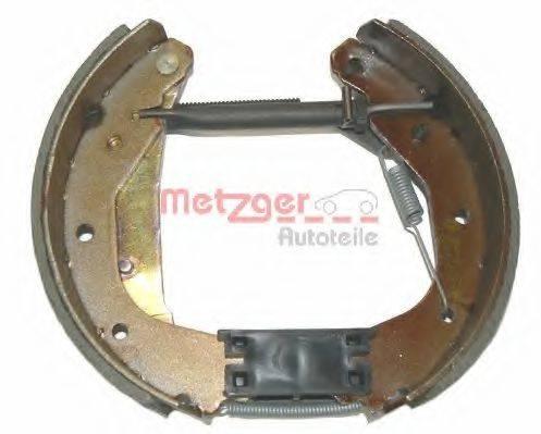 METZGER MG419V Комплект тормозных колодок