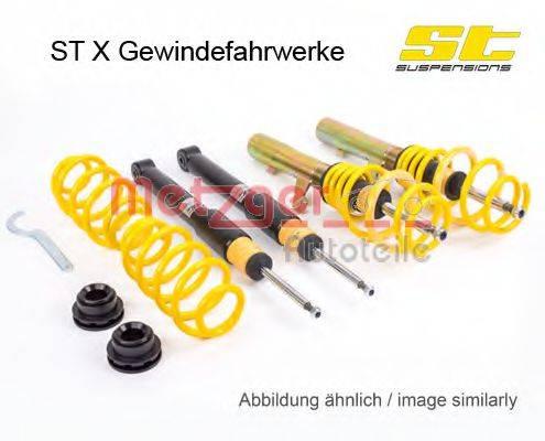 METZGER 113210026 Комплект ходовой части, пружины / амортизаторы