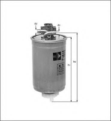 MAGNETI MARELLI 154068189000 Топливный фильтр