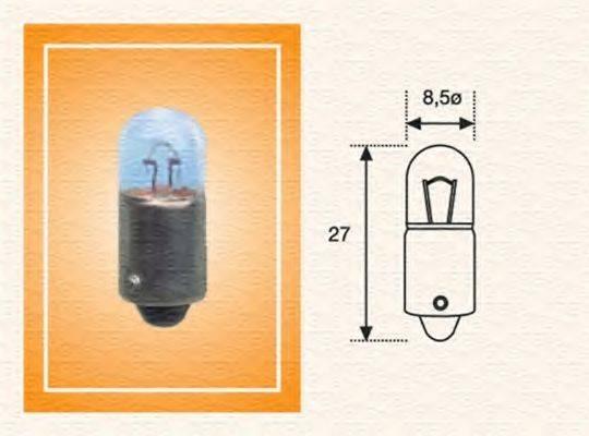 MAGNETI MARELLI 002894100000 Лампа накаливания, задний гарабитный огонь; Лампа накаливания, стояночные огни / габаритные фонари; Лампа накаливания