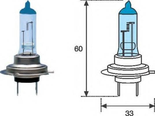 MAGNETI MARELLI 002603100000 Лампа накаливания, фара дальнего света; Лампа накаливания, основная фара; Лампа накаливания, противотуманная фара; Лампа накаливания
